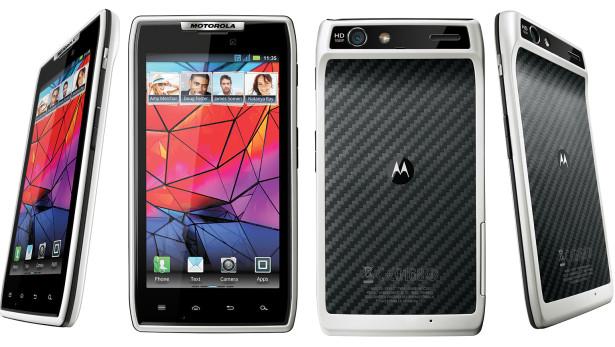 Motorola RAZR White Edition. | Smartphone's World